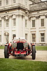 Classic pre war Aston Martin Ulster (imagefactory-studio) Tags: red english classic car race vintage automobile suspension headlights front retro grill transportation vehicle british radiator steeringwheel astonmartin tyre