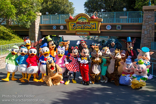 Disneyland Resort Closing Ceremony At Disney Character Central