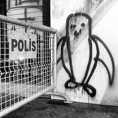 """Penguin protest. #turkishprotest #istanbul #penguinitis • <a style=""""font-size:0.8em;"""" href=""""http://www.flickr.com/photos/8861229@N06/8995741501/"""" target=""""_blank"""">View on Flickr</a>"""