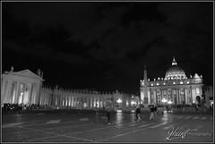 St Peter's Square and Basilica (^Joe) Tags: italy vatican rome st architecture square basilica religion culture dome peters lazio thevatican