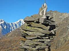 Trek to dshour lake (Sougata2013) Tags: lake manali rohtangpass himachalpradesh treking hanumantibba dshourlake