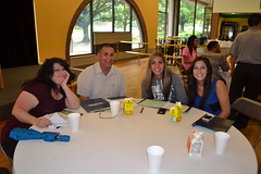 Humanities and Fine Arts Academic Orientation Luncheon (9) (saintvincentcollege) Tags: students campus education fine arts pa event benedictine orientation academic humanities latrobe saintvincentcollege