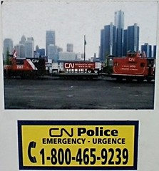 CN Police - Emergency (Will S.) Tags: ontario canada cn belleville mypics cnr canadiannational cnrail canadiannationalrailway canadiannationalrailways