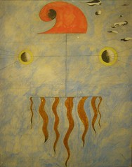 Joan Mir, Head of a Catalan Peasant, 1925 (DeBeer) Tags: albertina vienna wien austria art painting joanmir retrospective head catalan peasant 1925 1920s 20thcenturyart 20thcenturypainting