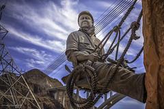 Hoover Dam 2016 01 (Juneau Biscuits (aka Len Yokoyama)) Tags: hooverdam dam engineering water electricity nevada jedgarhoover depression nikond810 nikon