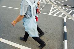 #11 (Tavepong Pratoomwong) Tags: feet streetphoto leg tavepong step bangkok thailand red yellow funny moment