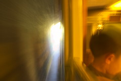 Petit Train Jaune #5 (tortipede) Tags: sony a500 1870 zoom fromraw rawtherapee holiday france frana midi migjorn catalunyadelnord catalunya catalonha catalogne roussillon rossell rosselhon petittrainjaune petittrengroc littleyellowtrain train narrowgauge electric pyrenees pyrnes pirineus tunnel geotagged geo:lat=4254103 geo:lon=226000