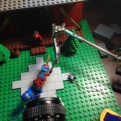 Behind the Scenes 5 - Character of a Ninja (rioforce) Tags: rioforce lego brickfilm ninja ninjago brickfilming legoninjago character kai jay zane cole lloyd nya wu lighting behindthescenes tutorial