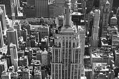 Empire State (angheloflores) Tags: new york city architecture travel building street blackandwhite urban explore manhattan nyc empirestate
