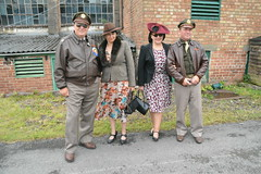 Yanks and their Dames (masimage) Tags: hootonpark hooton park 1940s weekend 2016 wartime ww2 wwii soldier army navy raf usarmy jive dance thevictorygirls victorygirls victory girls belladonnabrigade belldonna brigade singers ensa vintage britain 40s reenactment reenactor