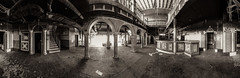 Das Thermalbad 360 Grad (Project-X-Team) Tags: lostplace panorama schwimmbad thermalbad treppe tueren urbex canoneos50d projectxteam f90 10mm iso100 urbanexploration decay verfall