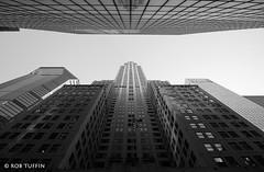 Chrysler Building, New York, Manhattan Skyscraper, USA, Tuffin (rtmotorphotos) Tags: chryslerbuilding newyork ny manhattan usa bigapple america canon 7d 1018 skyscraper architecture perspective vanishingpoint bw blackandwhite mono tuffin travel buildings skyline monochrome building