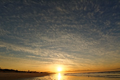 Marbrures Matinales (Pylou_astro) Tags: southafrica afriquedusud sunrise levdesoleil cape town muizenberg plage beach