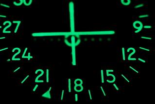 Phosphorescent avionics