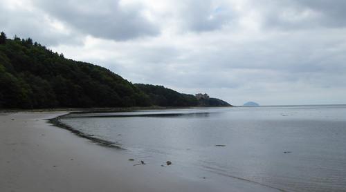 Culzean Bay and Ailsa Craig (2)