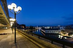 FDT #4 - Geneva (EOS.5Dan) Tags: facedown tuesday genve geneva lac lake rhne jonction quaiduseujet forcesmotrices lampadaires jetdeau seujet 5dmarkii 1740mm terrasse toit roof