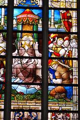 Jesus the King (quinet) Tags: 2014 belgium bruges ghent glasmalerei wappen blason coatofarms stainedglass vitrail antwerp flanders