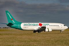 EI-BXK (GH@BHD) Tags: eibxk boeing 737 737400 b737 ei ein aerlingus shamrock specialcolours logojet dub eidw dublinairport dublininternationalairport dublin airliner aircraft aviation