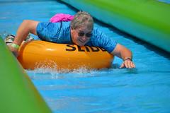 Slidestroke (radargeek) Tags: slidethecity oklahomacity oklahoma waterslide sunglasses smile