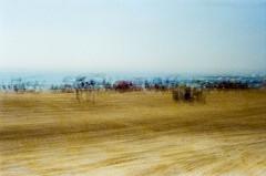 summer playland (mfauscette) Tags: 35mm fsc ishootfilm istillshootfilm nikon nikonf6 abstract analog asburypark beach cinestill cinestill800t film filmisnotdead filmshooterscollective jerseyshore multiexposure ocean sand