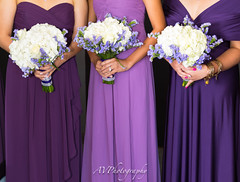 3 of the BridesMaids (JustCallmeAV) Tags: bridesmaids purple flower people portrait wedding hotel females flowers boque engage scenery love nyc