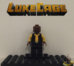 Custom Lego Luke Cage (AntMan3001) Tags: custom lego luke cage minifigure marvel