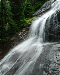 Small Waterfall in Cathedral Provincal Park (Michael Garson) Tags: cathedralprovincialpark provincialpark cathedralcorearea canada bc britishcolumbia mountain nature hiking hike backpacking