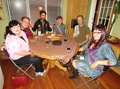 dinner with friends.. Danielle's Birthday.. (iwona_kellie) Tags: danielle birthday celebration dinner friends kitsilano britishcolumbia vancouver myhouse september 2016