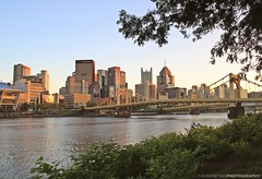 Fall Sunsets are the Best (FourOneTwo Photography) Tags: pittsburgh sunset autumn fall city cityskyline urban urbanex urbanromantix lovepgh pgh 412 northshoretrail alleghenyriver fouronetwophotography