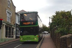 1115 (HW58 ATN) - Shanklin (GreenHoover) Tags: isleofwight iow shanklin southernvectis bus scaniaomnicity 1115 hw58atn