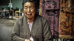 Hmong Woman (christophe plc) Tags: woman fuji hmong people xt1 mirrorless portrait thailand village femme doipui xf1855mmf284 mirroless old vieille colors person