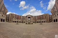 Arcades (Alex..H) Tags: ricardobofill architecture montigny 78180 78 yvelines sqy france fisheye batiment