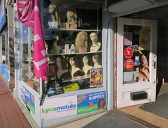 Nice and Lovely Supply (denizen8) Tags: landscape shopwindowanddoor beautyshop wigs moodystreet waltham massachusetts 201608236449a denizen8