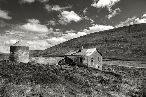 The Abandoned farm Neðstibær in North of Iceland