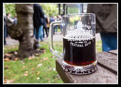 Beer (veggiesosage) Tags: nottingham beerfestival robinhoodbeerfestival fujifilm fujifilmx20 x20