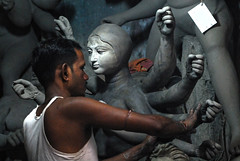 """Light is language""....Joe Mcnally (Rajib Singha) Tags: travel street indoor art idol clay potter interestingness flickriver nikond200 kumartuli kolkata westbengal india"