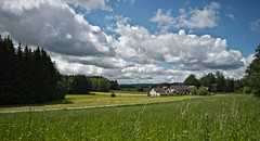 Waldviertel - Impressions (redy1966) Tags: 2016 waldviertel austria sterreich wood forest quarter rural landscape green sky cloud clouds
