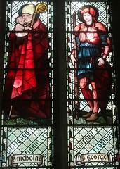 [45576] St Editha, Tamworth : St Nicholas & St George (Budby) Tags: tamworth staffordshire church window stainedglass preraphaelite williammorris edwardburnejones