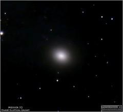 Messier 32  A Dwarf Elliptical Galaxy in Andromeda (Tom Wildoner) Tags: tomwildoner m32 messier ellipticalgalaxy elliptical galaxy andromeda andromedagalaxy deepspace deepsky space science stars round astronomy astrophotography astronomer dwarf telescope meade celestron canon canon6d satellite september 2016 blackhole astrometrydotnet:id=nova1774560 astrometrydotnet:status=solved
