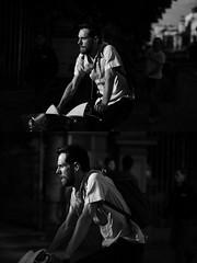 [La Mia Citt][Pedala] con il bikemi (Urca) Tags: milano italia 2016 bicicletta pedalare ciclista ritrattostradale portrait dittico nikondigitale mir bike bicycle biancoenero blackandwhite bn bw 89580