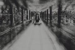 Encontrando mi lugar en el mundo (Mishifuelgato) Tags: encontrando mi lugar en el mundo alcoy rio molinar puente fabrica simetria nikon d90 50mm 18 retrato portrait photography fotografia blanco negro black white aire libre exteriores
