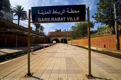 The station Rabat City (T   J ) Tags: morocco rabat fujifilm xt1 teeje fujinon1024mmf4