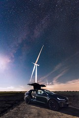 The Power of Nature (mitalpatelphoto) Tags: adventure astrophotography automobile car earth electric electricvehicle ev explore falcondoors galaxy greenenergy indurotripod milkyway modelx moon nature nightphotography nightsky nikon planet space spacex stars tesla texas usa vertical windturbine muenster unitedstates us