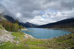 Medicine Lake (leuntje) Tags: medicinelake jaspernationalpark alberta canada unescoworldheritage unesco rockymountains malignerange
