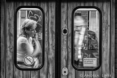 passengers.... (andrealinss) Tags: berlin bw blackandwhite berlinstreet berlinstreets passengers schwarzweiss street streetphotography streetfotografie andrealinss bus subway airport
