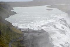 Up close at Gullfoss (chili5558) Tags: iceland waterfalls gullfoss mist wet slippery dangerous