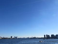 Around New York: Roosevelt Island, Sep. 2016 (yapima1) Tags: newyork rooseveltisland skyline cityview eastriver