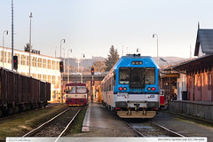 843.029-0 | Sp1630 | tra 331 | Zln-sted (jirka.zapalka) Tags: train trat331 sp cd rada843 zlin stanice czech winter