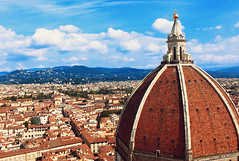 view from giotto's bell tower (sarah_fan90) Tags: florence italy giottos bell tower cathedral cityscape travel