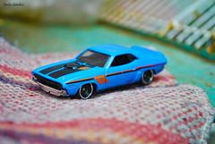 71 dodge challenger (spawn5555) Tags: hotwheels automvil escala macro pequeo small juguete toy cotidiano casa home nikon d3000
